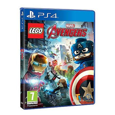 LEGO Avengers - PS4 - Game com Café.com