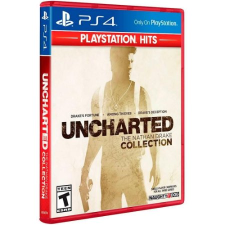 Uncharted Collection 3 Jogos - PS4