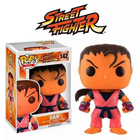 Funko DAN Street Fighter Pop! Games