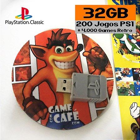 Jogos Playstation Classic 32GB