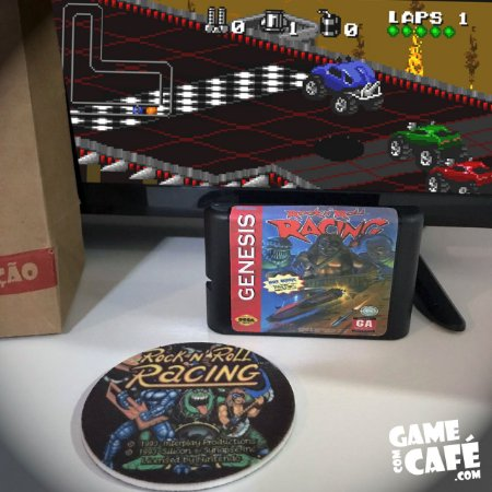 Cartucho Rock N Roll Racing - Mega Drive