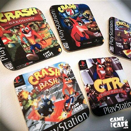 Porta-copos do Crash Bandicoot