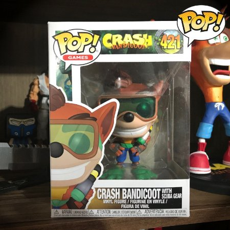 Funko Pop! Games - Crash Bandicoot 421