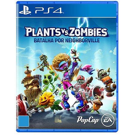 Plants VS Zombies - PS4 - Batalha por Neighborville