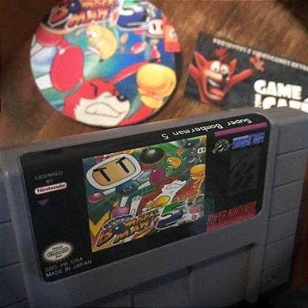 Cartucho Super Bomberman 5