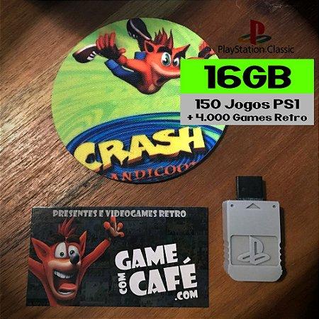 4.000 Jogos Playstation Classic 16GB
