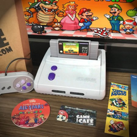 Super Nintendo Baby + Mario World e All-Stars