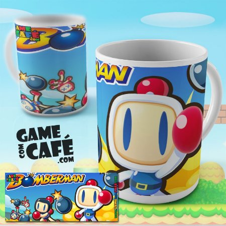 Caneca do Bomberman
