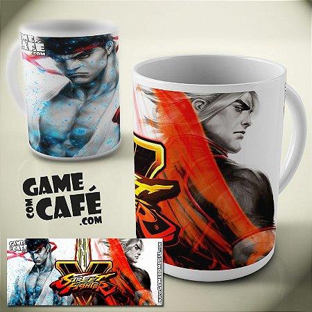 Caneca Street Fighter V