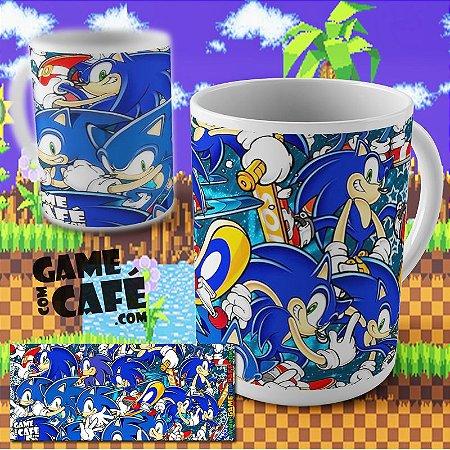 Caneca Sonic Invaders