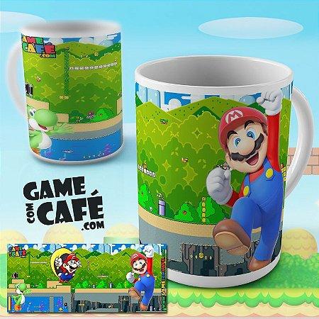 Caneca Super Mario Top