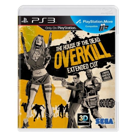 The House of the Dead Overkill - Extended Cut - PS3