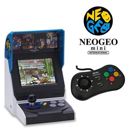 NeoGeo Mini + Controle