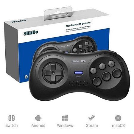 Controle Mega Drive sem fio 8bitdo USB