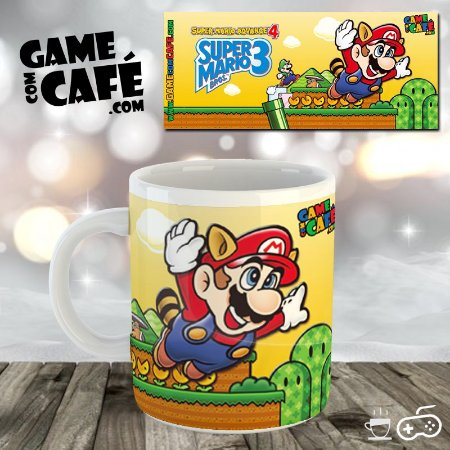 Caneca Super Mario Advance 4