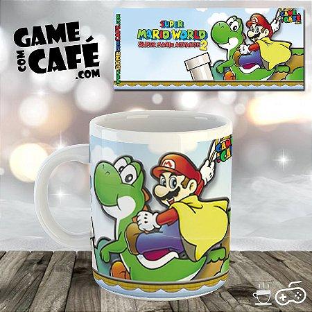 Caneca Super Mario Advance 2