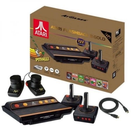 Atari Flashback 8 Gold Deluxe 120 Jogos