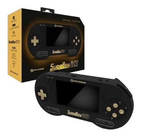 SupaBoy BlackGold - Super Nintendo Portátil