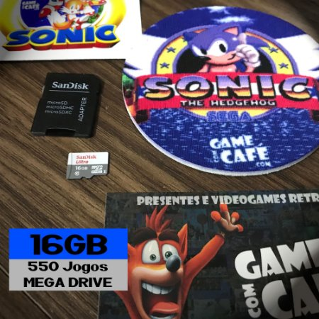 550 Jogos para o Mega Drive da Tectoy