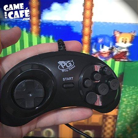 Controle Mega Drive Paralelo