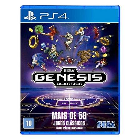 SEGA Genesis Classics - 50 Jogos Mega Drive para PS4