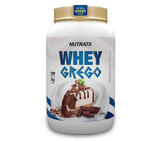 WHEY GREGO  SABOR CHEESECAKE CHOCOLATE 900G - NUTRATA