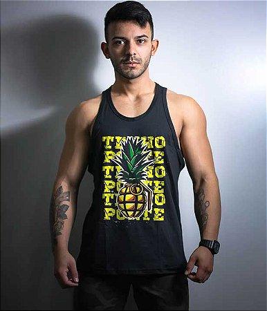 Camiseta Regata Militar Funny Tenho Porte Team Six