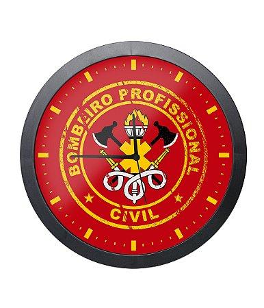 Relógio de Parede Bombeiro Civil