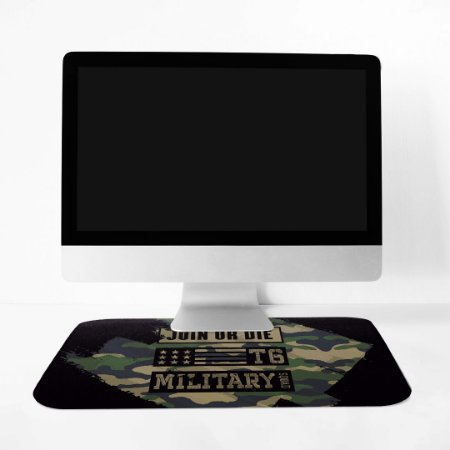Mousepad Militar Concept Line Camu Join Or Die Team Six