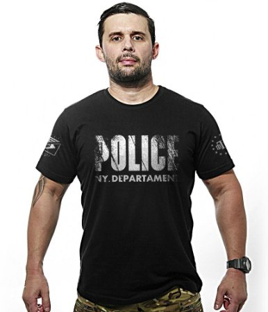 Camiseta Police NY Department EUA