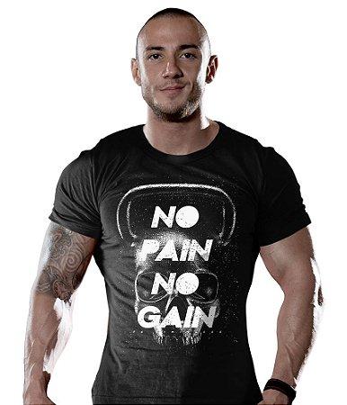 Camiseta Academia No Pain No Gain Skull