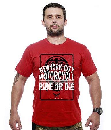 Camiseta Motorcycle new York City Ride Or Die