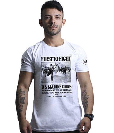 Camiseta To Fight U.S Marines Corps