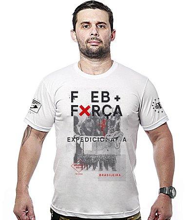 Camiseta FEB Força Expedicionária Brasileira