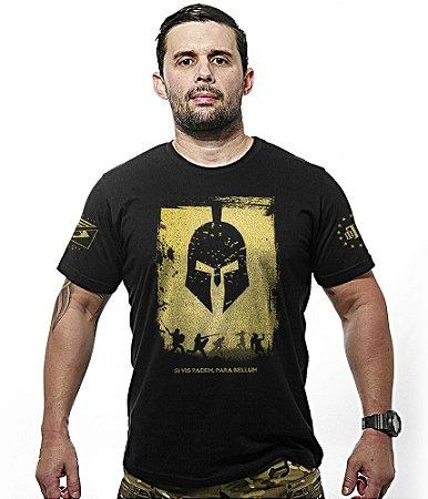 Camiseta Si Vis Pacem Para Bellum Gold Line