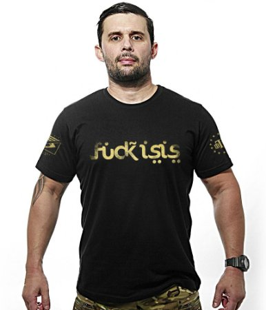 Camiseta Fuck Isis Gold Line