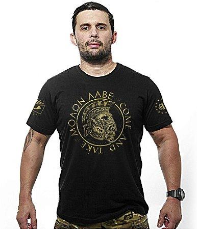 Camiseta Molon Labe Gold Line