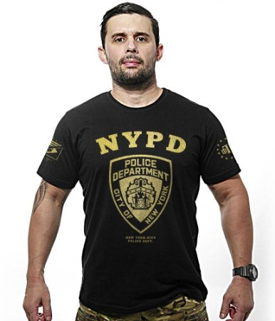 Camiseta Police NYPD Gold Line