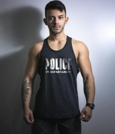 Camiseta Regata Police