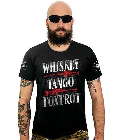 Camiseta Squad T6 Instrutor Fritz Whiskey Tango and Foxtrot