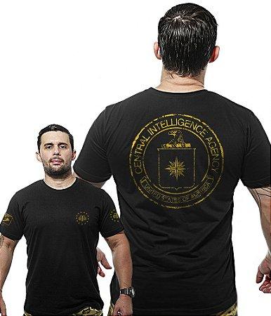 Camiseta Militar Wide Back Central Intelligence Agency