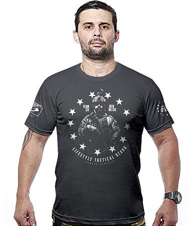 Camiseta Militar Concept Line Team Six Lifestyle Tactical Beard
