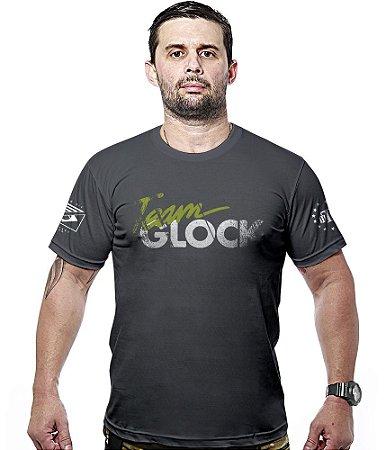 Camiseta Militar Team Glock Hurricane Line