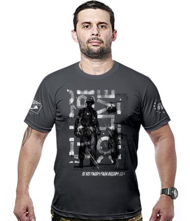 Camiseta Militar Si Vis Pacem Para Bellum Military Wear Hurricane Line