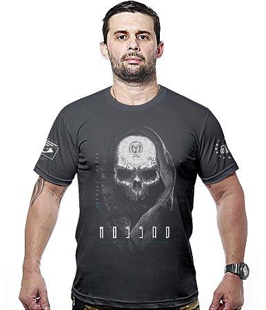 Camiseta Militar Mossad Serviço Secreto Israelense Hurricane Line