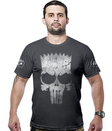 Camiseta Militar Punisher Bart Hurricane Line