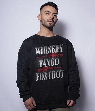 Casaco Básico de Moletom Instrutor Fritz Whiskey Tango Foxtrot