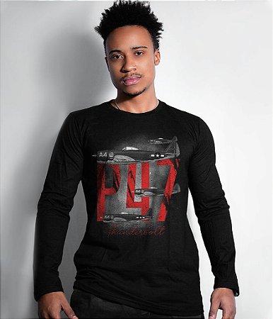 Camiseta Manga Longa P47