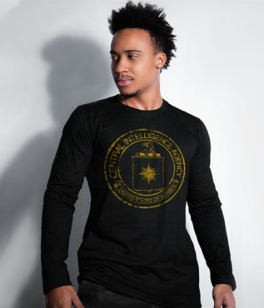 Camiseta Manga Longa CIA