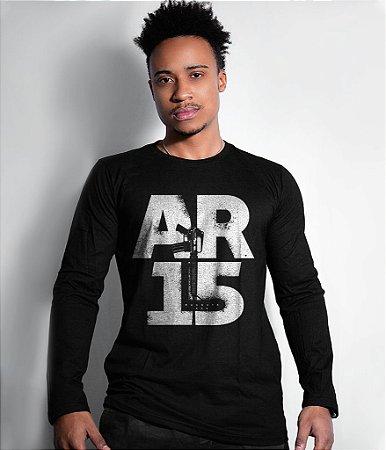 Camiseta Manga Longa Magnata AR15